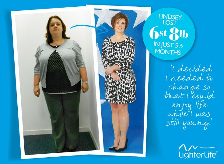 Lindsey Barford lost 6st 8lb in just 5 and a half months with #LighterLife and she said it's completely changed her eating habits for good.