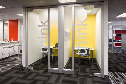 this is a neat idea for offices for contractors who may need to be on conference calls a lot