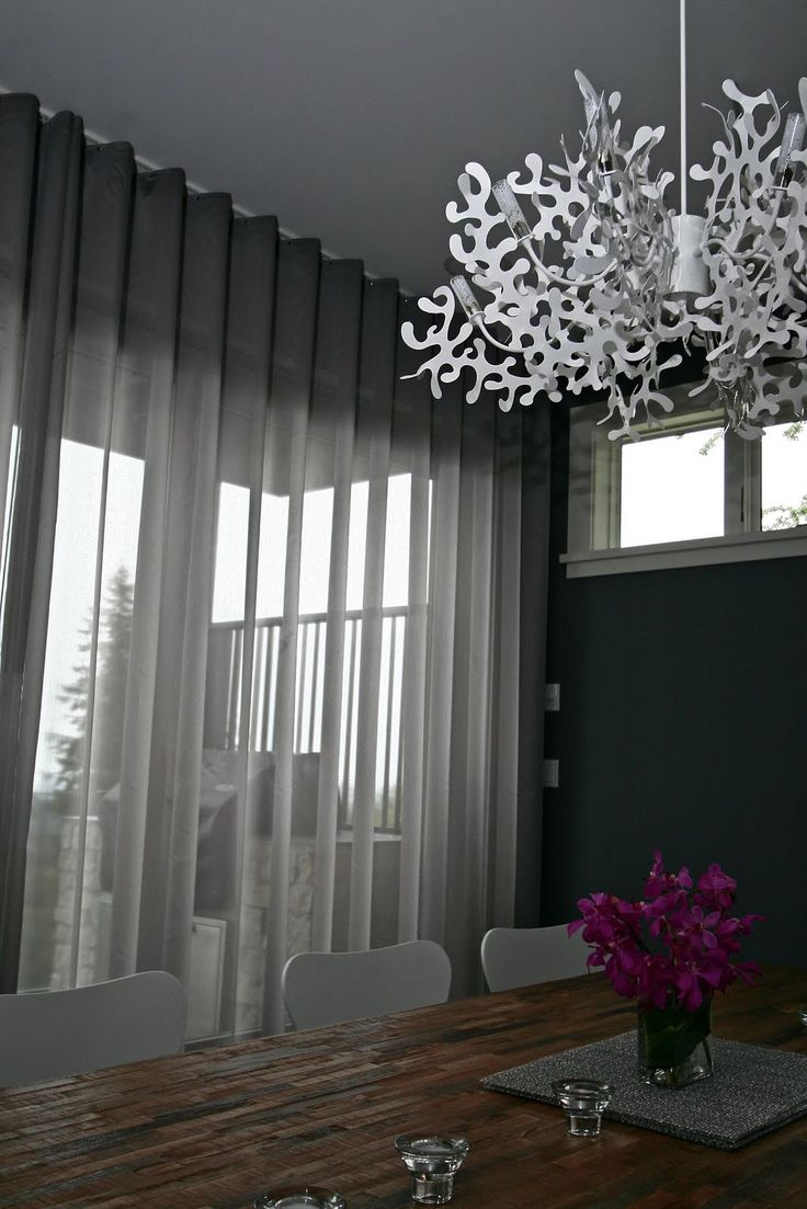 Curtain Otaku Soft Grey Sheers Part Two