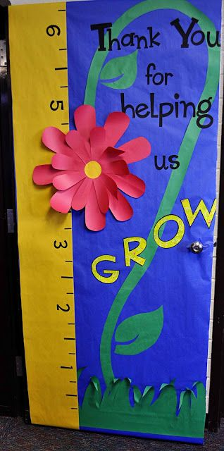 Childrens Learning Activities: Teacher Appreciation Week: Door Decorations