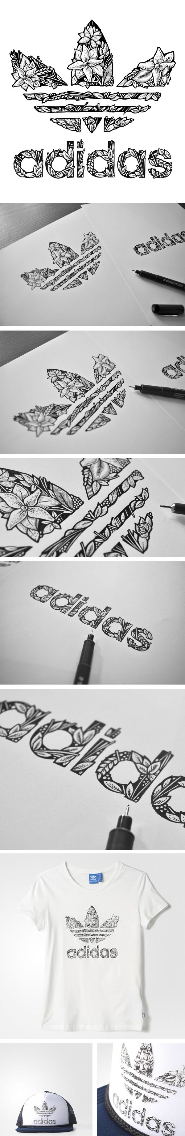 ADIDAS ORIGINALS FW15 on Behance exercise de creation faire le logo u¿dune marque a ta facon