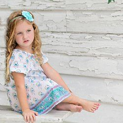 Girls Samsara Dress - Jaipur Print - Haveli