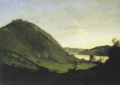 Markó, Károly   Visegrád    Before 1826   Oil , Canvas  58,5 x 83,5 cm   Inv.: 3097