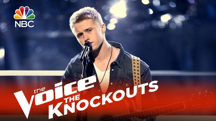 "The Voice 2015 Knockouts - Corey Kent White: ""Live Like You Were Dying"""