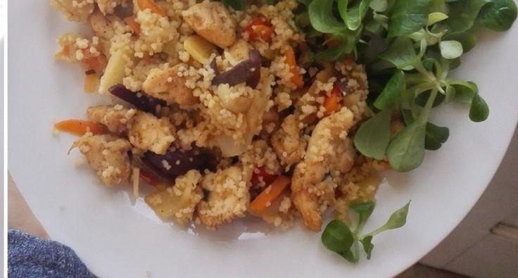 Csirkés zöldséges kuszkusz | APRÓSÉF.HU - receptek képekkel