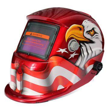 Duarte Industrial Supplies: Eagle Solar Pro Auto Darkening Welding Helmet Arc ...