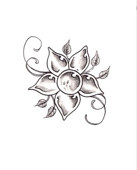 5 petal flower (105)