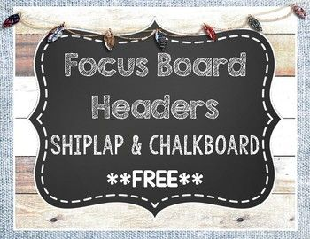 This free package includes focus wall headers for math, reading, writing, research, social studies, science, grammar, phonics, and history. I have also included alphabet headers for a word wall. Simply print, laminate, cut, and display! I hope you enjoy this freebie!