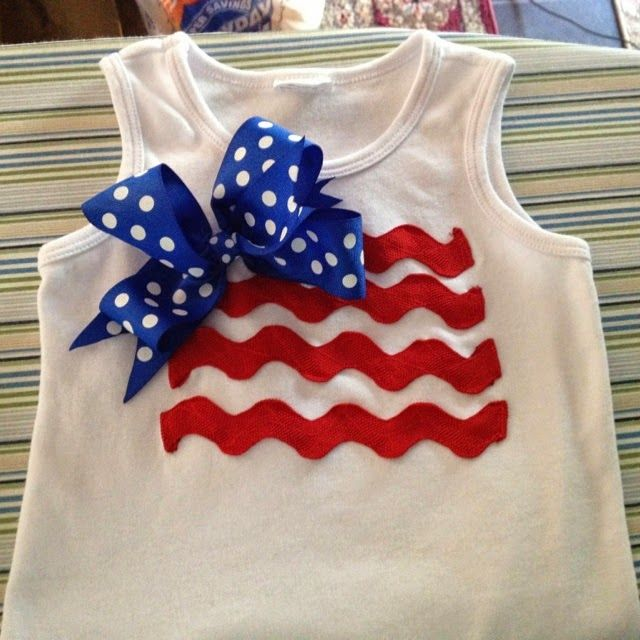 Crafty Texas Girls: 11 Ideas for DIY Fourth of July Shirts