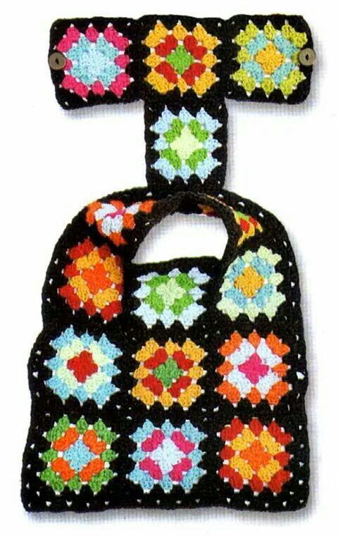 Free Crochet Granny Square Dog Sweater : Ubranko dla pieska Ubranka dla pieska Pinterest