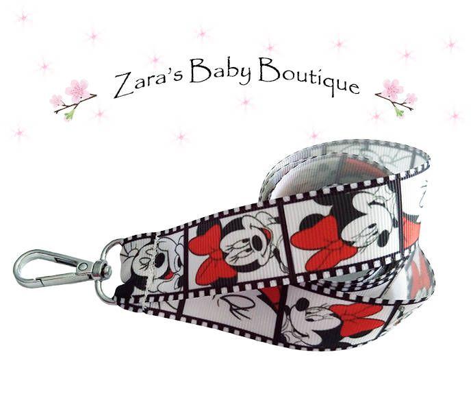 Red Minnie Mouse Lanyard * Breakaway Lanyard * Choice of 4 designs * Disney Fan Lanyard * Ladies Lanyard * USB Keyring Key Ring * ZBB by ZarasBabyBoutique on Etsy