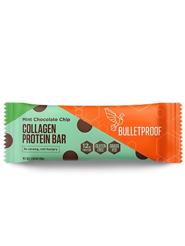 Mint Chocolate Chip Collagen Protein Bar (12 pack)