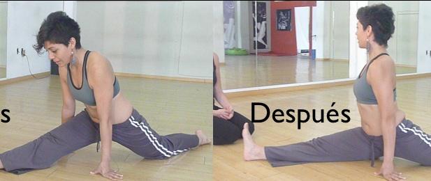 Cómo liberar las caderas (cómo hacer el split)   Lea Kaufman / Feldenkrais y Huesos para la Vida