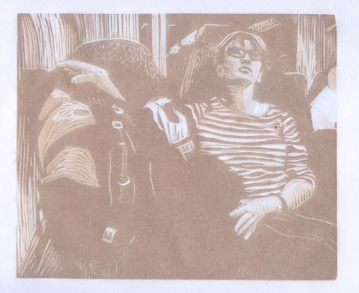 Jenni Viita is a printmaker and visual artist from Finland. She is focusing mainly on Lithography and Woodblockprinting. @portfoliobox