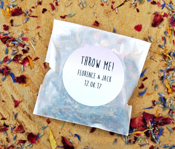 Real flower confetti biodegradable confetti by LotusFloralArt