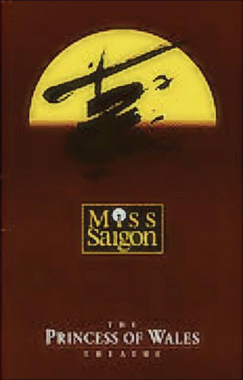"""Toronto, Ontario premiere of """"Miss Saigon"""" at the Princess of Wales Theatre, located at 300 King Street West ... Canadian Premiere Production ... Production Design by John Napier ... Music by Claude-Michel Schönberg ... Lyrics by Richard Maltby, Jr. and Alain Boublil ... The cast included Kevin Gray, Ma-Anne Dionisio, H.E. Greer, and Rufus Bonds, Jr."""