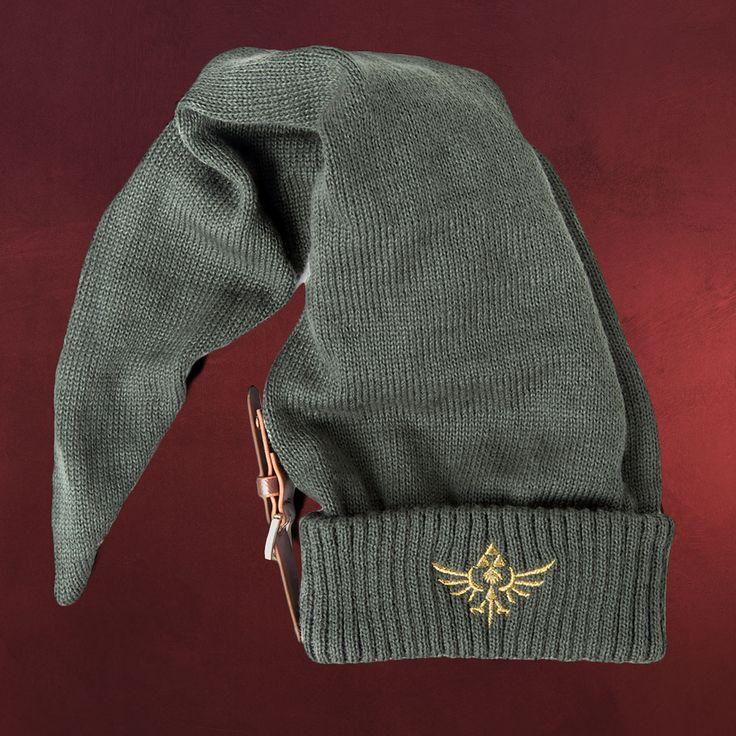 Link sein von Kopf bis Fuß. Dazu gehört neben dem Zelda Shirt von Nintendo für den Sommer auch die Link Zelda Mütze mit einem langen Zipfel und einer Lederschnalle für den Winter. Selbstredend, dass das gute Stück mit dem goldenen Logo...