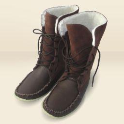"Men's Authentic Canadian 13"" Snowshoe Boot Mukluks 19245"