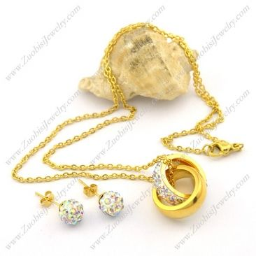 s001055 Item No. : s001055 Market Price : US$ 42.40 Sales Price : US$ 4.24 Category : Necklace and Earring Set