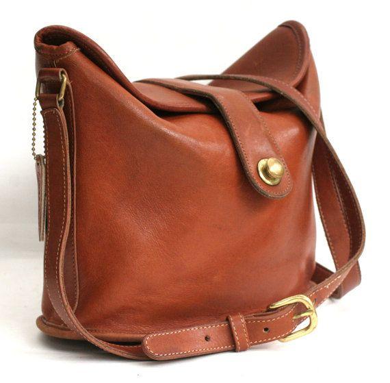 vintage coach shoulder bag by TanakaVintage on Etsy
