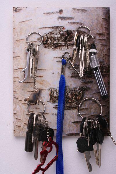 "Magnetbrett ""Birke"" (5) Schlüsselbrett POK von Mart & Leef - Heidi Karkmann auf DaWanda.com"