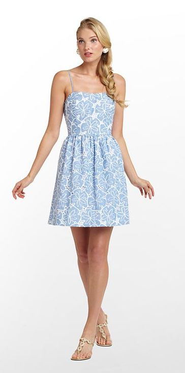 Lily Pulitzer Bethany Dress- probably too short in reality, but still cute