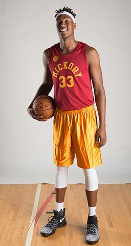 Myles Turner, Pacers Players in Their Hickory Uniforms
