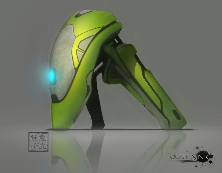 Futuristic form study