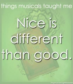 Into the Woods (submitted by katiesaurus26).  And this is true.