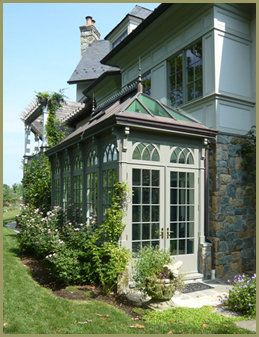 A Small Conservatory Greenhouse - Palmhouses _ Greenhouses by Tanglewood Conservatories