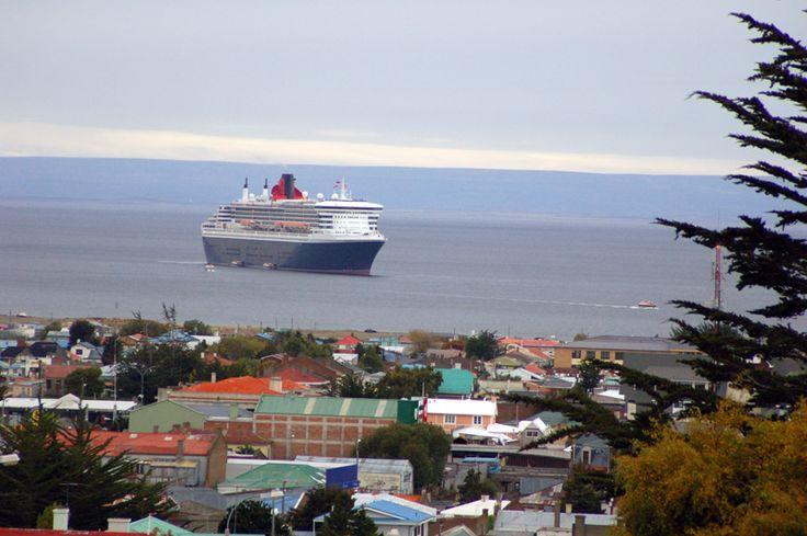 Vista desde El Cerro de la Cruz en Punta Arenas
