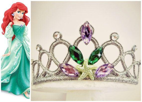 Mermaid Headband Mermaid Crown Mermaid Tiara Ariel by LikeTheStars