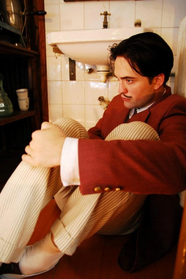 Rob as Dali in Little Ashes