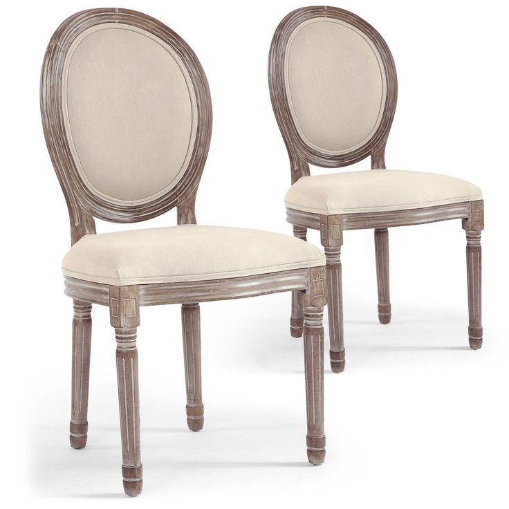 Les 25 meilleures id es concernant chaise medaillon sur for Recouvrir chaise tissu