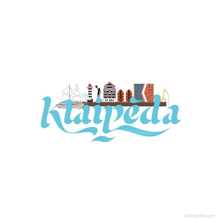 My snapchat geofilter design for Klaipeda, Lithuania. it's live!