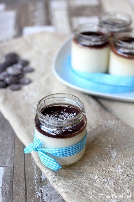 Yaourt bounty - Yaourt maison au lait de coco et au chocolat (bref, comme un bounty quoi !)