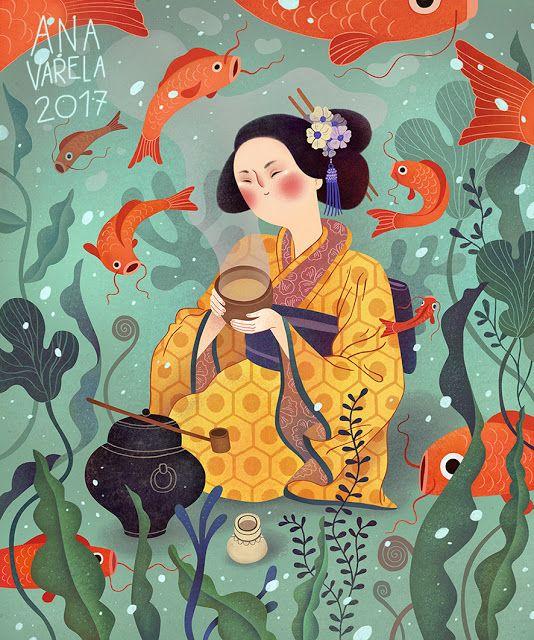 Ana Varela Ilustración: Blue