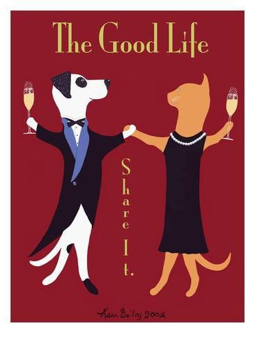 The Good Life Giclee Print by Ken Bailey at AllPosters.com