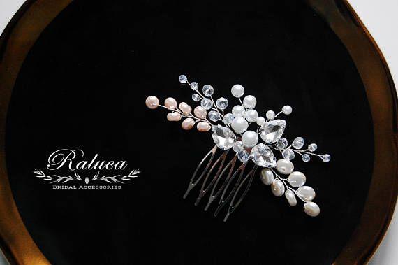 Bridal Hairpiece Bridal Hair Accessory Bridal Hair Comb Bridal