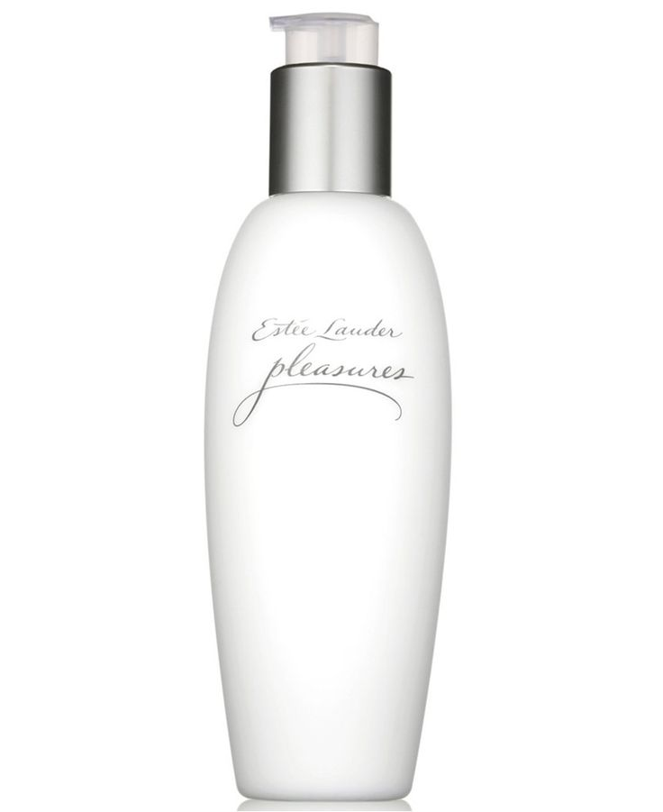 Estee Lauder Pleasures Lotion. LOVE the lotions...get it at Macy's and there is a free gift, I think!