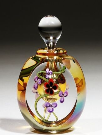 Vintage perfume bottle from Bonnie Mullinax. More