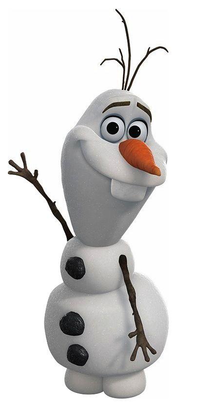Cake Tutorial: Olaf from Disney's Frozen