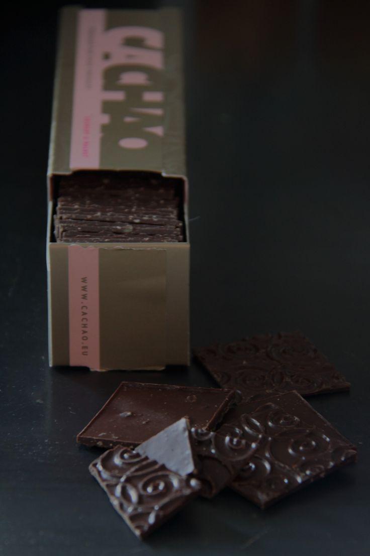 Photo taken by me-Raw chocolate from Palma Mallorca