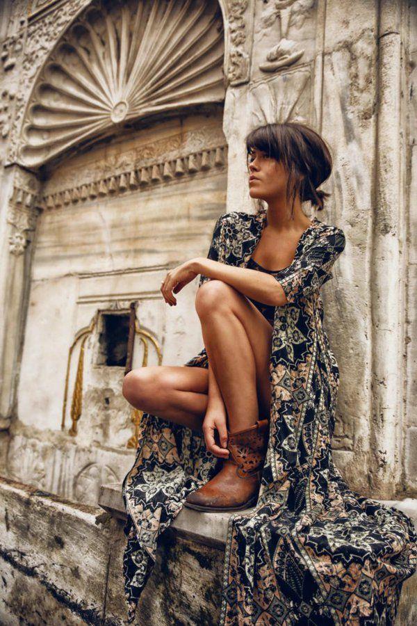 25 best ideas about hippie look on pinterest hippie. Black Bedroom Furniture Sets. Home Design Ideas
