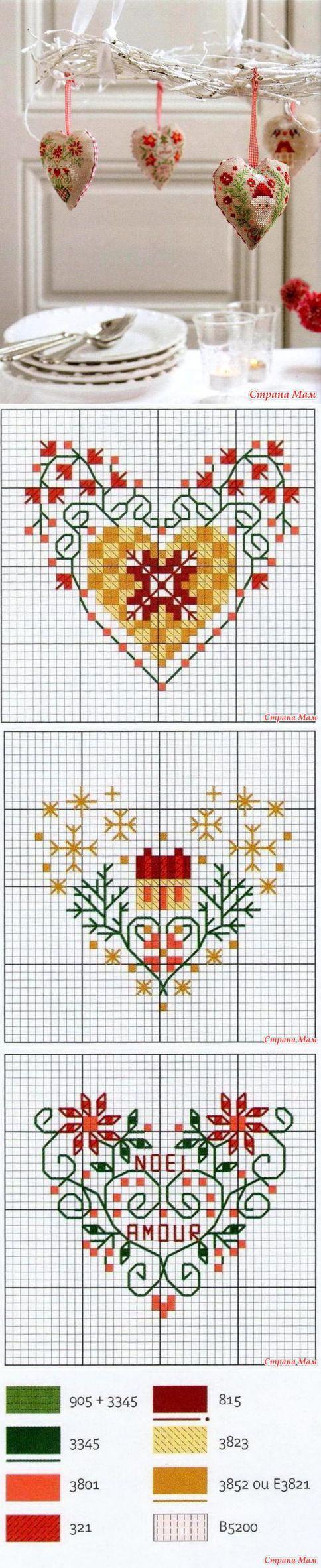 """Коллекция рождественских сердечек - Бискорню и другие """"кривульки"""" - Страна Мам"""