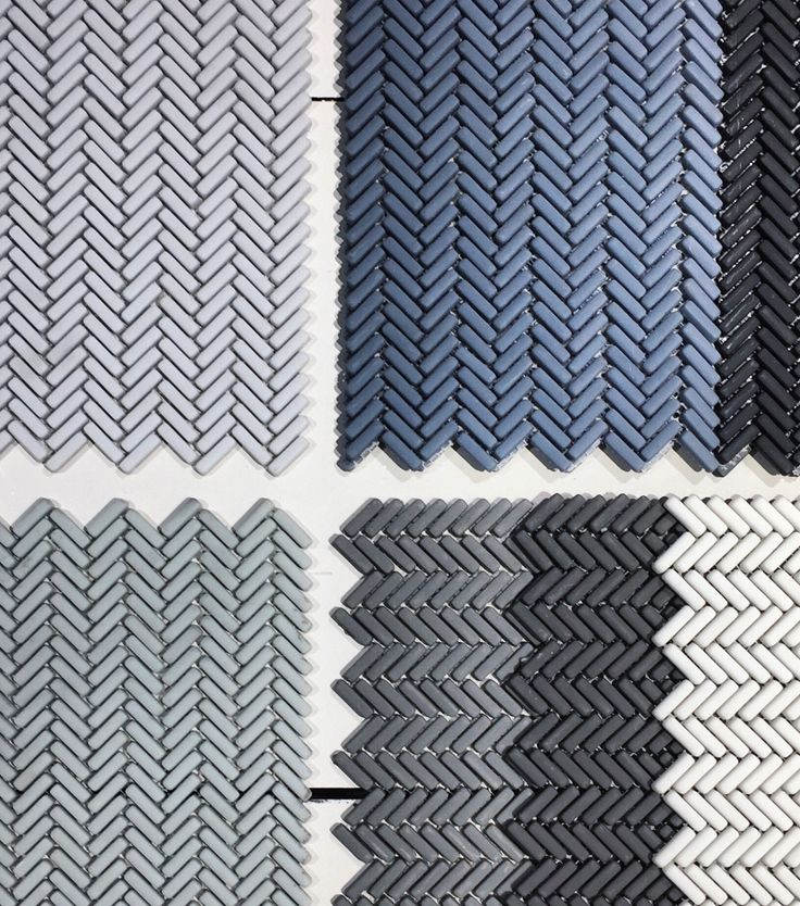 Herringbone Collection available at Icon Stone + Tile