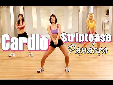 50 Minutes Dance Aerobic Workout - Sexy Cardio Striptease Workout For Wo...