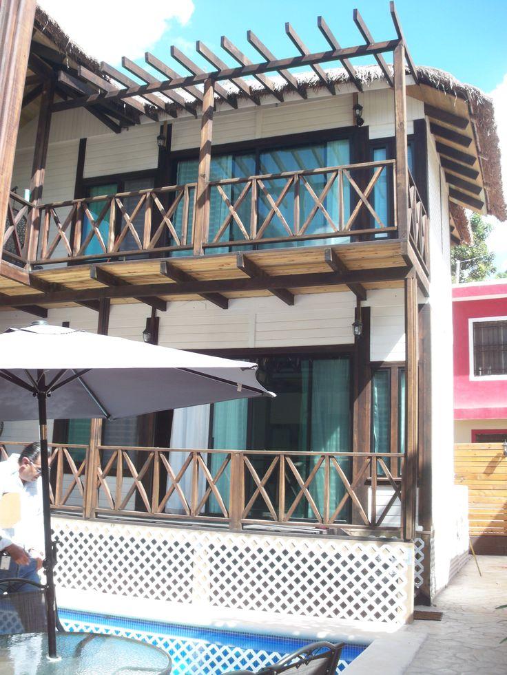 cabaña de dos niveles en tulum