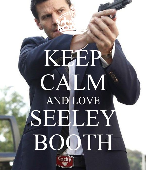 KEEP CALM AND LOVE SEELEY BOOTH - KEEP CALM AND CARRY ON Image ...