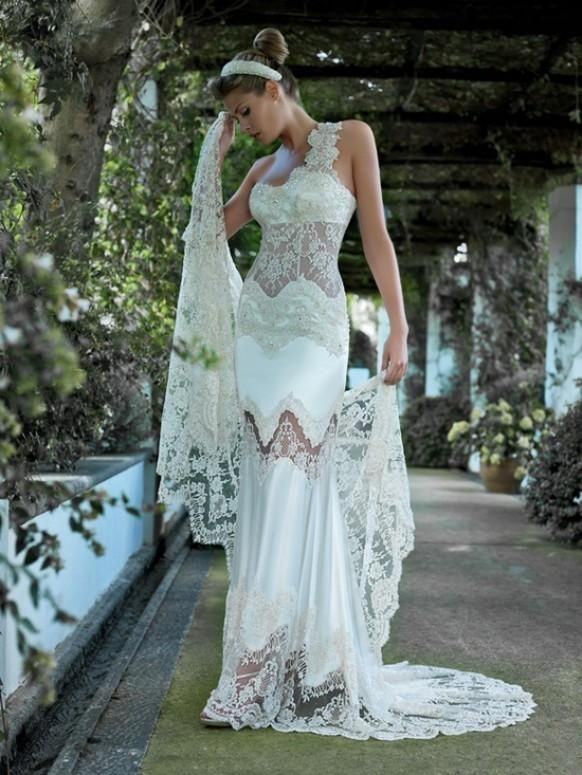 Velo Di Pizzo > Dress3 #1920064 - Weddbook